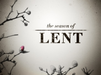 Lent Season – Let It Go!